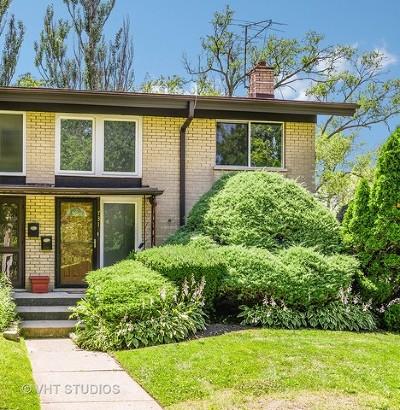 Wilmette Condo/Townhouse For Sale: 731 Hibbard Road
