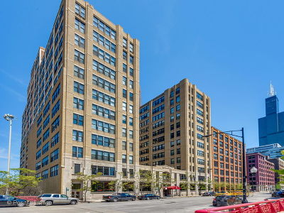 Condo/Townhouse New: 728 West Jackson Boulevard #623