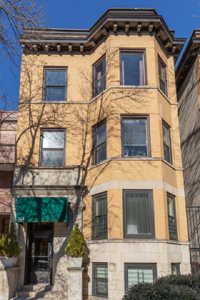 Condo/Townhouse New: 714 West Cornelia Avenue #3