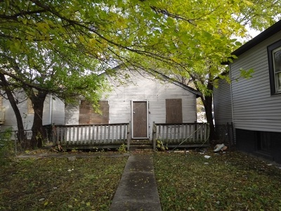 Chicago IL Single Family Home Auction: $20,000