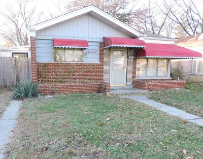 Dolton Single Family Home New: 14404 University Avenue