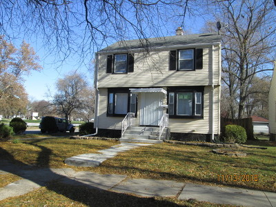 Cook County Single Family Home New: 14745 Evers Street