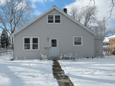 Cook County Single Family Home New: 3302 George Street