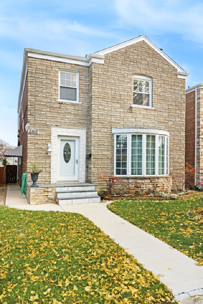 Cook County Single Family Home New: 5915 North Saint Louis Avenue