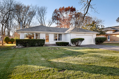 Olympia Fields Single Family Home Price Change: 20312 Fairfield Avenue