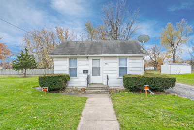 Braidwood Single Family Home Price Change: 443 West Main Street