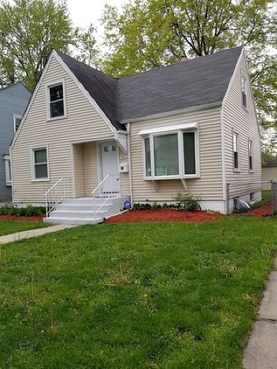 Dolton Single Family Home New: 14836 Grant Street