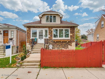 Chicago Single Family Home New: 6217 West Henderson Street