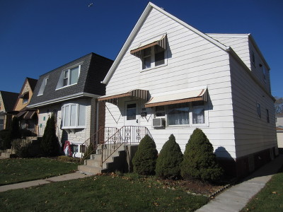 Chicago Single Family Home New: 6650 West Imlay Street