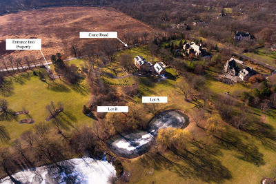 St. Charles Residential Lots & Land New: Lot A, B Crane Road