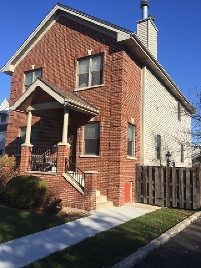 Chicago Single Family Home New: 5955 North Canfield Road
