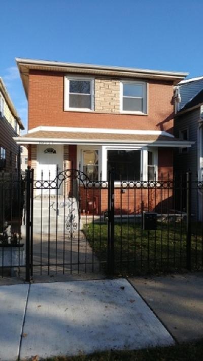 Single Family Home New: 10321 South Avenue H