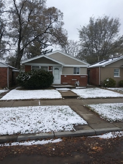 Chicago IL Single Family Home New: $110,000