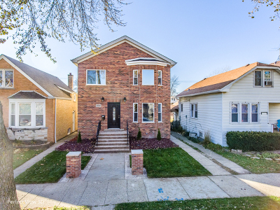 Chicago Single Family Home New: 3530 North Oleander Avenue