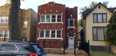Chicago Multi Family Home New: 4938 West Race Avenue