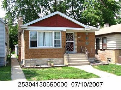 Calumet Park Single Family Home New: 12538 South Wood Street