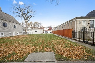 Chicago Residential Lots & Land New: 4832 West School Street