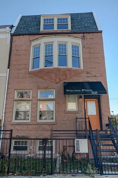 Chicago Multi Family Home New: 3143 West Warren Boulevard
