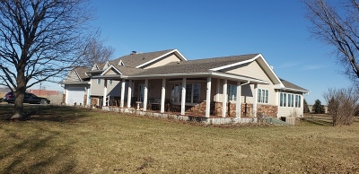 Single Family Home For Sale: 14n631 Us Highway 20