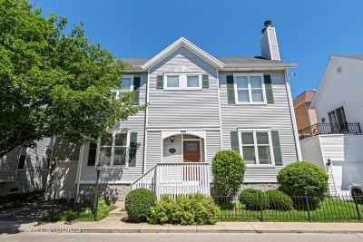 Chicago Single Family Home New: 2847-B North Wolcott Avenue