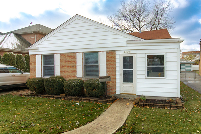 Niles Single Family Home For Sale: 8326 North Newland Avenue