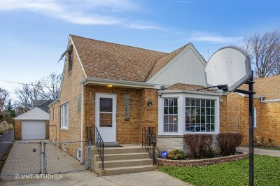 Chicago Single Family Home New: 7106 North Melvina Avenue