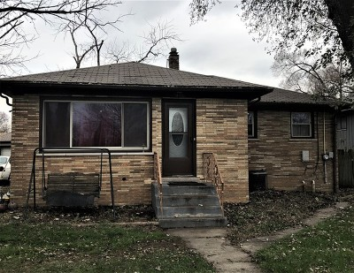 Dolton Single Family Home New: 14716 Harper Avenue