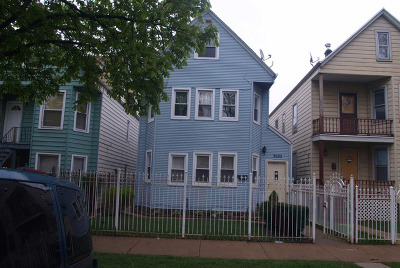 Chicago Multi Family Home New: 2923 North Avers Avenue