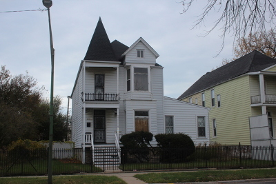 Chicago Single Family Home New: 6345 South Evans Avenue