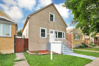 Chicago Single Family Home New: 6111 South Keeler Avenue