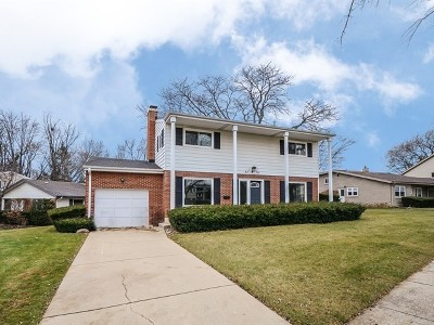 Mount Prospect Single Family Home For Sale: 110 South We Go Trail