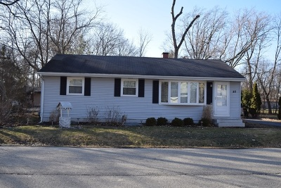 Mc Henry County Single Family Home New: 20 Eastwood Avenue