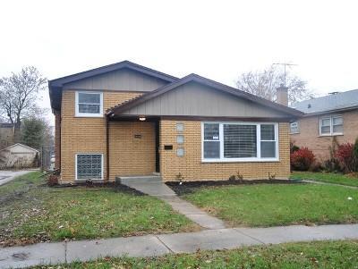 Dolton Single Family Home New: 14548 Grant Street