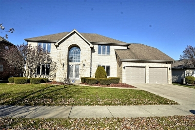 Orland Park Single Family Home Price Change: 7842 Woodruff Drive