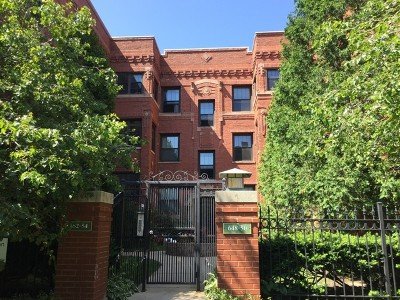 Chicago Condo/Townhouse New: 652 West Aldine Avenue #2