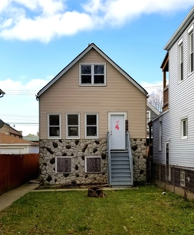 Single Family Home New: 7650 South Drexel Avenue
