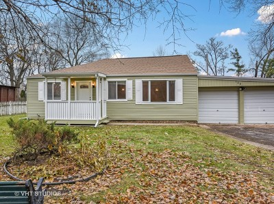 Mount Prospect Single Family Home New: 123 East Gregory Avenue
