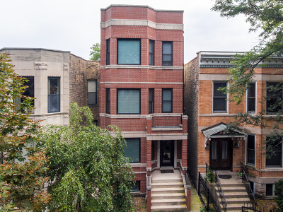 Chicago Condo/Townhouse New: 2627 North Washtenaw Avenue #1