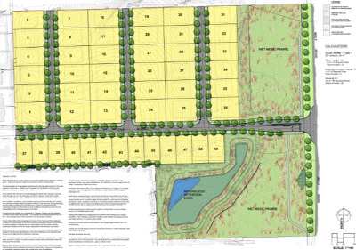 Orland Park Residential Lots & Land New: 17069 Foxtail (Lot 24) Drive