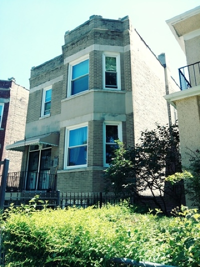 Cook County Multi Family Home New: 1839 North Harding Avenue