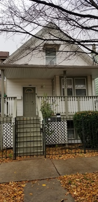 Cook County Single Family Home New: 3023 North Spaulding Avenue