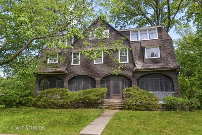 Wilmette Single Family Home For Sale: 103 Broadway Avenue