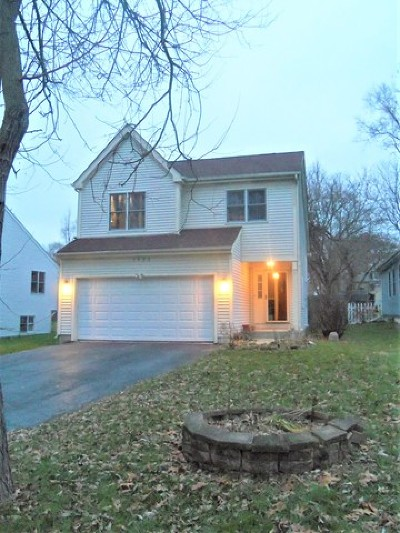 Crystal Lake IL Single Family Home New: $225,000