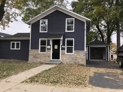 Aurora IL Single Family Home New: $155,000