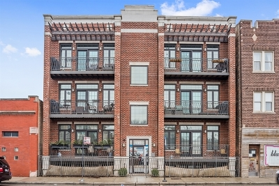 Chicago Condo/Townhouse New: 1951 West Belmont Avenue #3E
