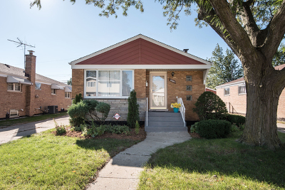 Chicago Single Family Home New: 4265 West 82nd Place