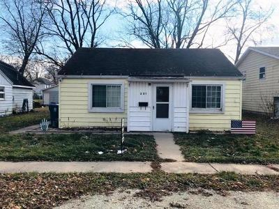 Dwight Single Family Home Price Change: 221 West North Street