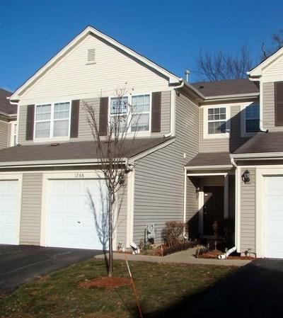 Carpentersville Condo/Townhouse For Sale: 1268 Brookdale Drive