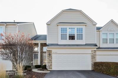 Plainfield Condo/Townhouse For Sale: 24943 Franklin Lane