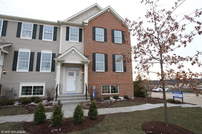 Crystal Lake Condo/Townhouse For Sale: 1027 River Birch Boulevard
